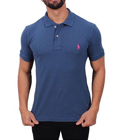 Camisa Polo Ralph Lauren Azul Escuro