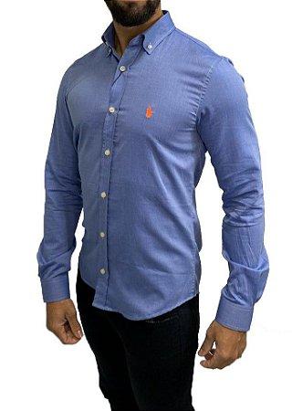 Camisa Azul Ralph Lauren