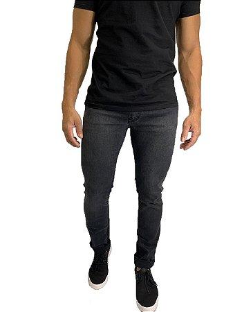 Calça Jeans Armani Exchange Preta Desbotada