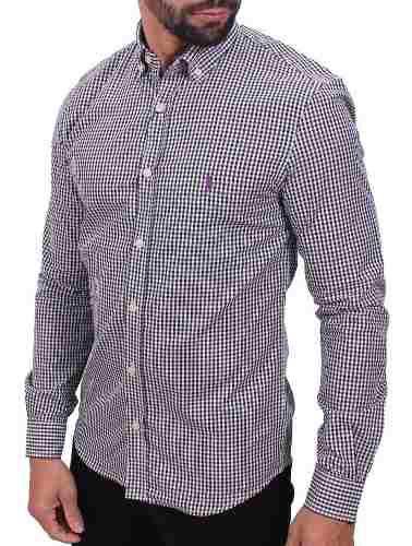 Camisa Ralph Lauren Xadrez Preto