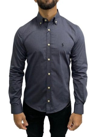 Camisa Ralph Lauren Chumbo Oxford