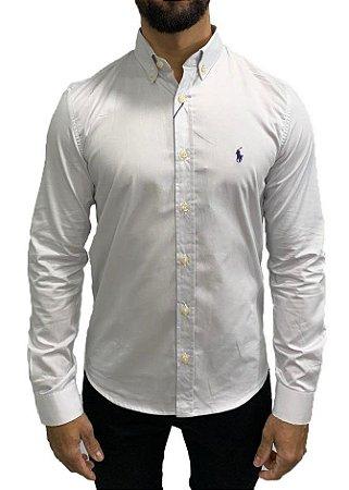 Camisa Ralph Lauren Lisa Branca Gelo