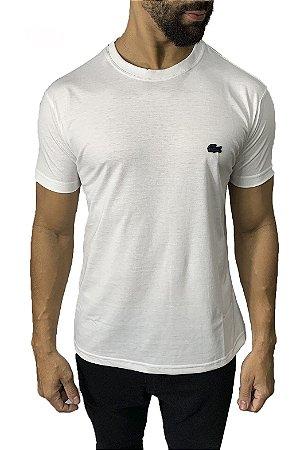 Camiseta Lacoste Básica Branca