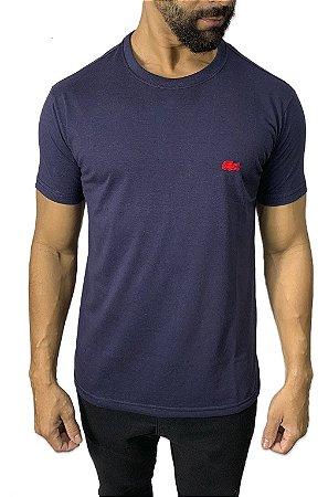 Camiseta Lacoste Básica Azul Marinho