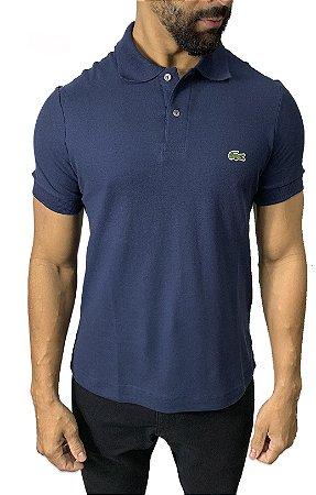 Camisa Polo Lacoste Azul Marinho