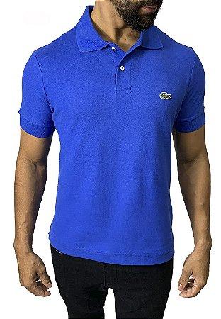 Camisa Polo Lacoste Azul