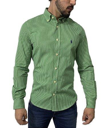 Camisa Ralph Lauren Listrada Verde
