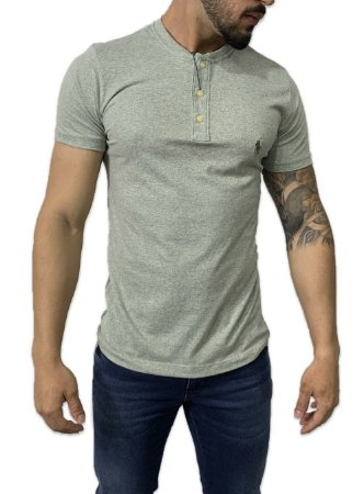 Camiseta Ralph Lauren Henley Verde