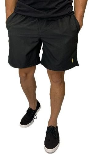 Shorts Praia Ralph Lauren Preto