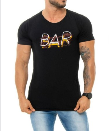 Camiseta Red Feather (Bar Neon)