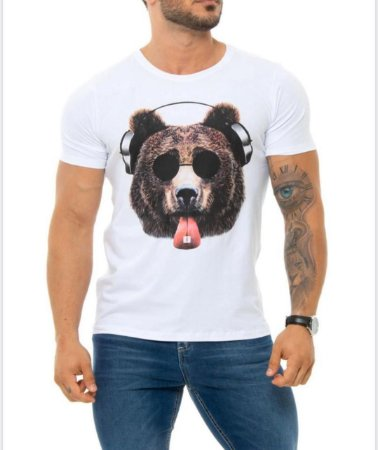 Camiseta Red Feather (Acid Bear)