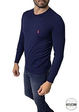 Suéter Ralph Lauren Azul Marinho