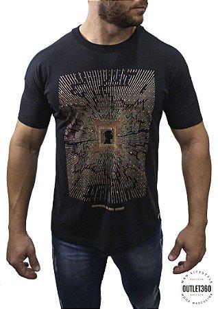 Camiseta Booq Box Sistema Colorido Strass
