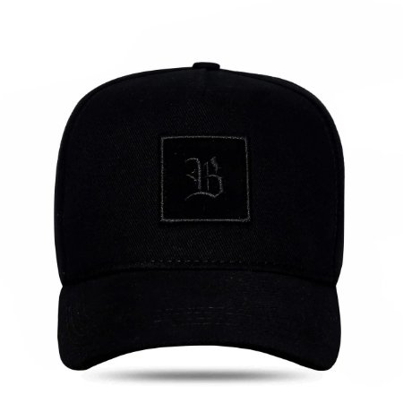 Boné Blck Strapback Square All Black