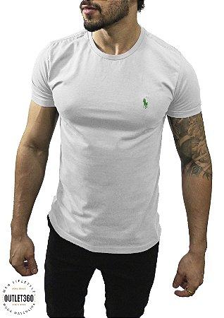 Camiseta Ralph Lauren Básica Branca