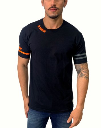 Camiseta La Madrid Basic Black Neon