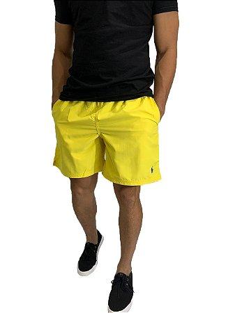 Shorts Praia Ralph Lauren Amarelo