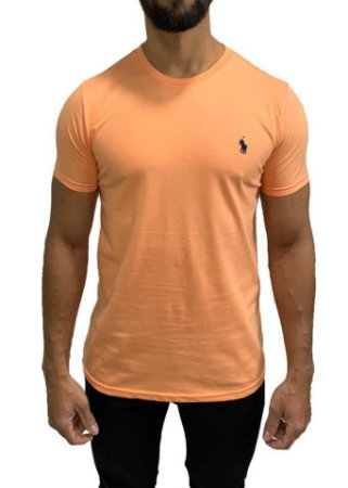 Camiseta Ralph Lauren Básica Laranja
