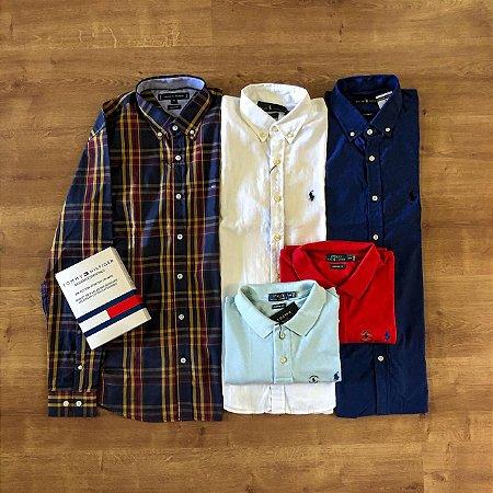 Combo American / Grátis 1 Camisa Polo Ralph Lauren + Frete Grátis