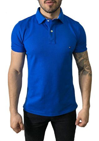 Camisa Polo Tommy Hilfiger Azul