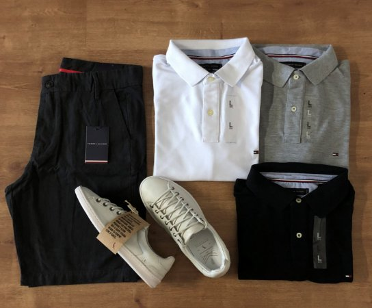 Combo Casual Tommy Hilfiger + Frete Grátis