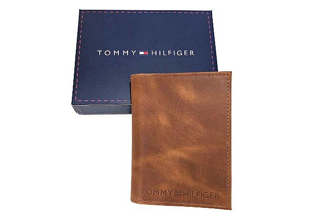Porta-Cartões Tommy Hilfiger Marrom