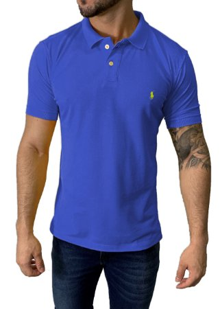 Camisa Polo Ralph Lauren Azul Royal