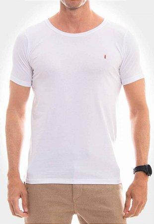 Camiseta Red Feather Básica Branca