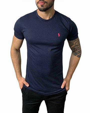 Camiseta Ralph Lauren Básica Marinho
