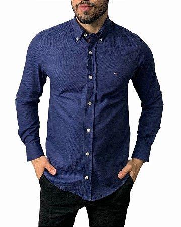 Camisa Tommy Hilfiger Marinho