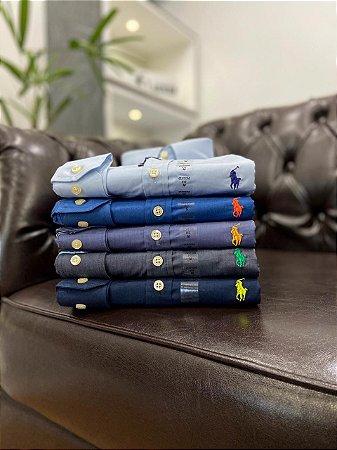 Kit com 3 Camisas Ralph Lauren