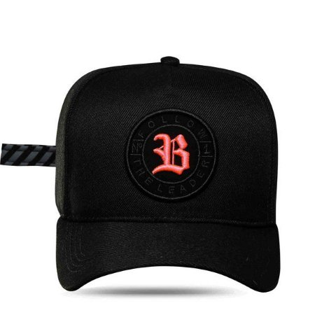 Boné Blck Snapback Follow Trace Black