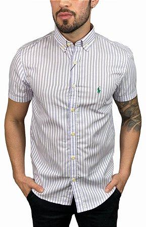 Camisa Ralph Lauren Listrada Malva