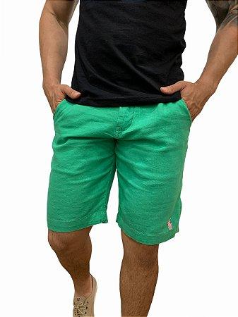Bermuda Ralph Lauren Linho Verde