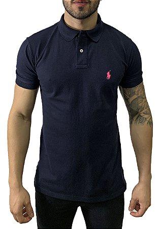 Camisa Polo Ralph Lauren Azul Petróleo