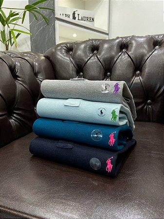 Kit com 4 Camisas Polo Ralph Lauren