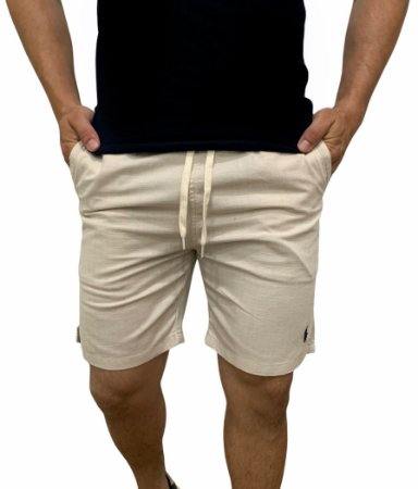 Shorts Ralph Lauren Linho Caqui