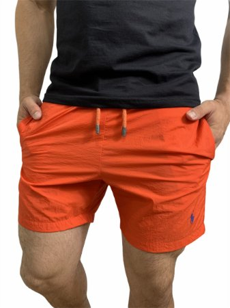 Shorts Beach Ralph Lauren Laranja