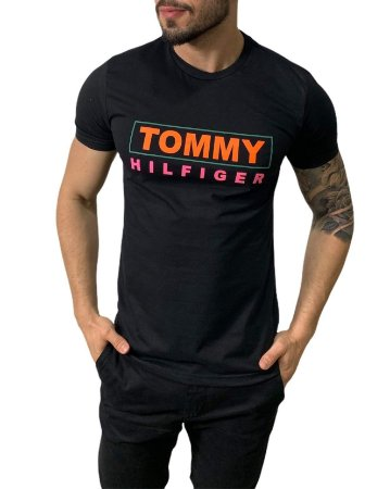 Camiseta Tommy Hilfiger Preta