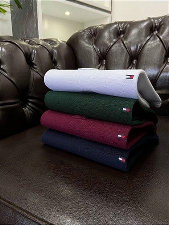 Kit com 4 Camisas Polo Tommy Hilfiger