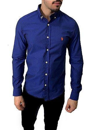 Camisa Ralph Lauren Furta-Cor Azul