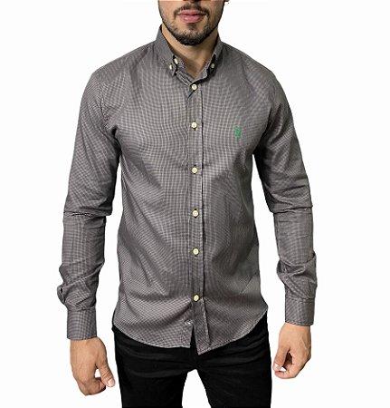 Camisa Ralph Lauren Quadriculada Jungle