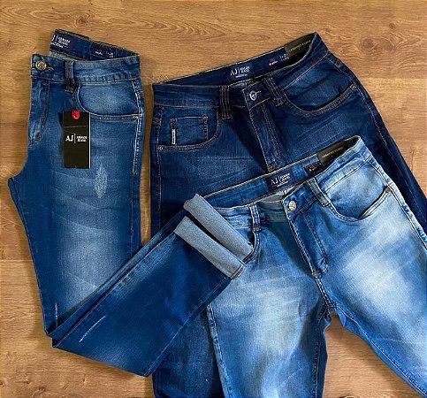 Kit com 3 Calças Jeans n°38 - A|X