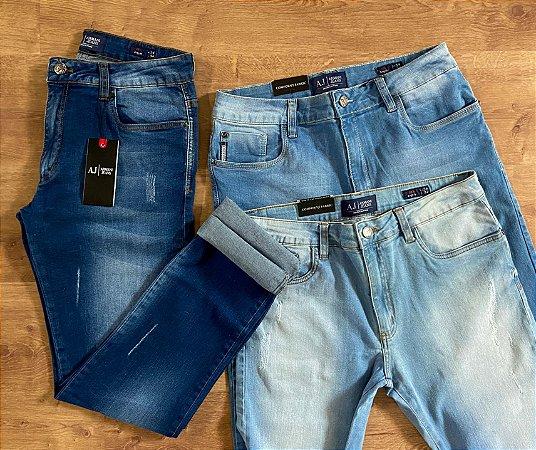 Kit com 3 Calças Jeans n°44 - A|X
