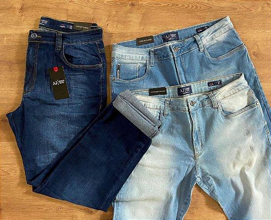 Kit com 3 Calças Jeans n°48 - A|X