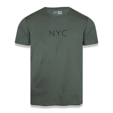 Camiseta New Era Botany NYC Militar