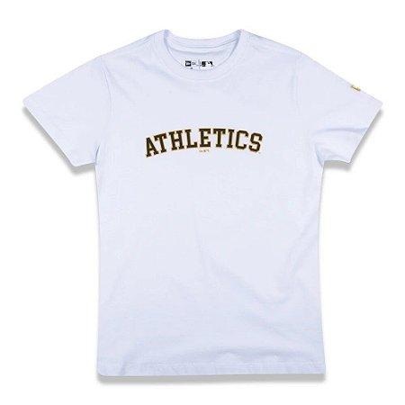 Camiseta New Era College Script Oakath Girls