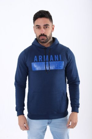 Moletom Armani Exchange Azul Marinho