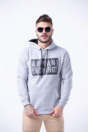 Moletom Armani Exchange Cinza