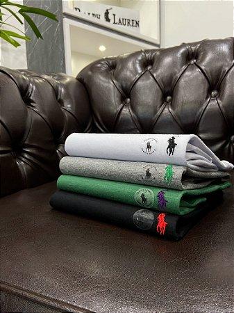 Kit com 4 Camisetas Ralph Lauren